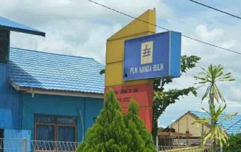 Plang Kantor PLN Rayon Nanga Bulik