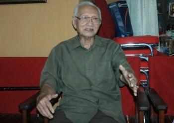 Mantan ketua Dewan Adat Dayak Kalimantan Tengah Sabran Achmad.
