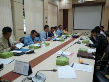Kepala Perwakilan Bank Indonesia Provinsi Kalimantan Tengah, Wuryanto, memberian keterangan pers kepada sejumlah awak media, Kamis (7/9/2017).