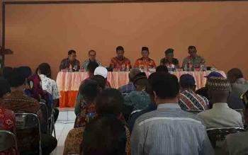 Reses legislator di Kecamatan Baamang.