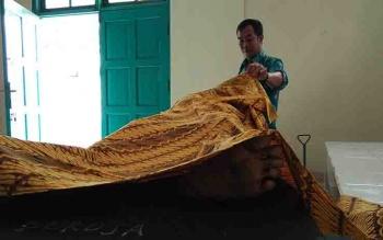 Korban tewas dalam kecelakaan lalu lintas di Jalan Jenderal Sudirman, Sampit - Pangkalan Bun.