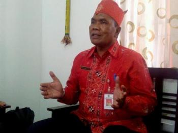 Kepala Dinas Pemadam Kebakaran dan Penyelamatan Kota Palangka Raya, Anwar Sanusi U Gayo.