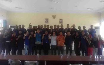 Komisi III DPRD Kotim usai sidak di Dinas Pemadam Kebakaran.