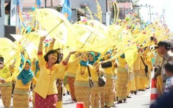 Pawai nasi adab merupakan salah satu agenda kegiatan yang bakal meriahkan HUT ke-58 Kobar