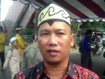 Kepala Bidang Pertamanan dan Kebersihan Ahmad Isnaenie