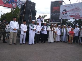 Aksi Bela Rohingya Kalteng Sisihkan Rp 55,5 juta