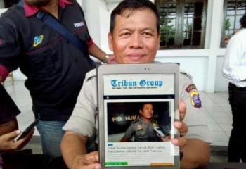 Kabid Humas Polda Kalteng: Berita di Tribungroup.com Soal Yansen Binti itu Hoax