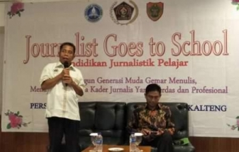 PWI Gelar Journalist Goes to School
