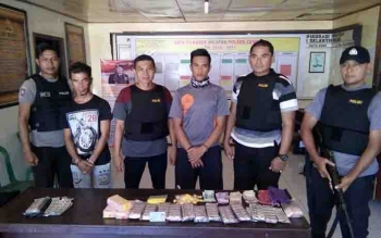 Kasus narkoba yang berhasil diungkap Polsek Cempaga.