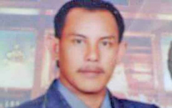 Salah satu kuasa hukum Irwansyah alias Ancah Naga, Sukarlan Fachrie Doemas.