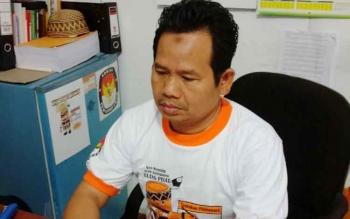 Ketua KPU Kabupaten Pulang Pisau, Untung Surapati.