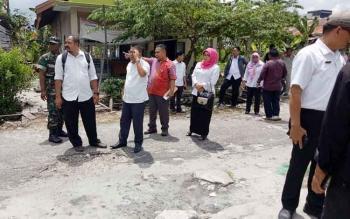Kegiatan reses anggota DPRD Kota Palangka Raya Dapil II ke Kelurahan Bukit Tunggal baru-baru ini.