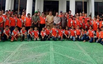 Ketua DPRD Berharap Kontingen Pasparawi Gunung Mas Jadi Yang Terbaik