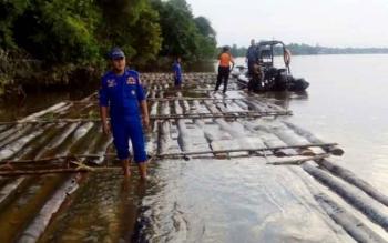 Ditpolair Ringkus Pemilik Ratusan Kayu Ilegal di DAS Mentaya