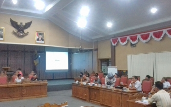 Rapat kompilasi APBD Perubahan di DPRD Kotim