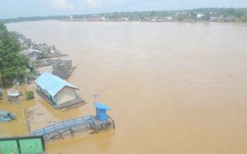 Air Sungai Katingan Berubah Warna, Pemilik Keramba Ikan Mulai Khawatir