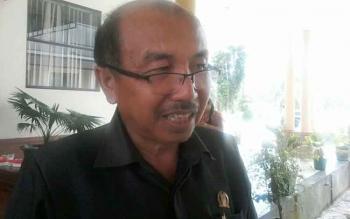 Ketua DPC PDI Perjuangan Katingan Ignatius Mantir L Nussa