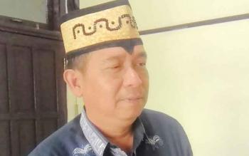 Kepala Bappeda Kabupaten Kapuas Yan Hendri Ale