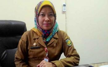 Kepala Badan Perencanaan Pembangunan Daerah (Bappeda) Kota Palangka Raya Hera Nugrahayu.