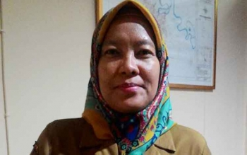 Kepala Badan Perencanaan Pembangunan Daerah (Bappeda) Kota Palangka Raya, Hera Nugrahayu.