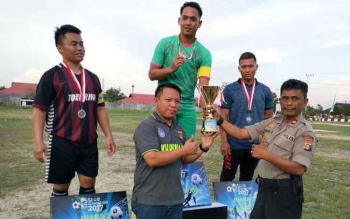 Tim Kharisma Juara Turnamen PSSI CUP 2017