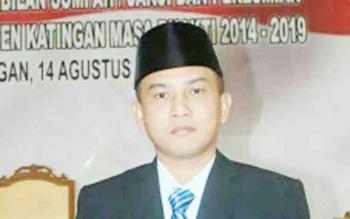 M Efendi anggota DPRD Kabupaten Katingan.