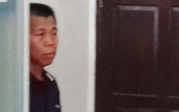Yusuf Herydi alias Usuf tersangka kasus tambang ilegal jenis galian c