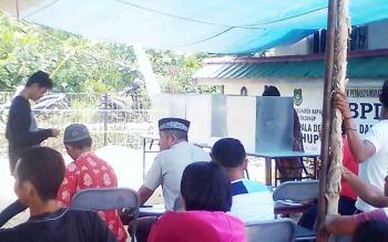 Pelaksanaan Pilkades Serentak di wilayah Kecamatan Dadahub