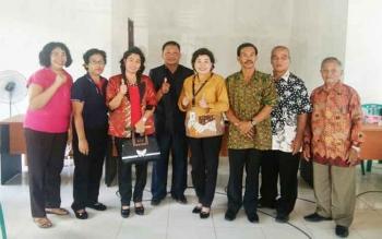 Anggota DPRD daerah pemilihan I saat melakukan reses, beberapa hari lalu.