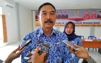 Kabid Pembinaan SMP Dinas Pendidikan Kota Palangka Raya, Rudi Listianto.