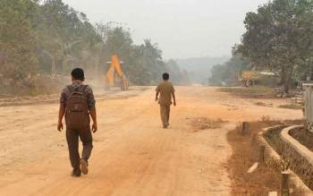 Tampak suasana pedesaan di kecamatan Belantikan Raya (Ilustrasi)