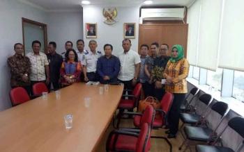 Komisi III DPRD Kapuas Datangi Kemenhub Soal Pengerukan Alur Sungai Batanjung