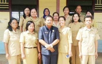 Para pegawai dilingkungan Pemerintah Kabupaten Gunung Mas.