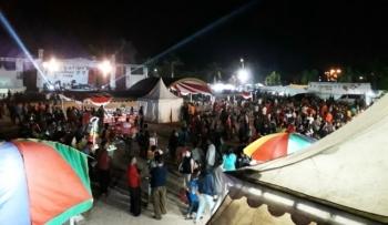 Arena Lamandau Expo, Halaman Kantor Bupati Lamandau, Komplek Perkantoran Bukit Hibul, Nanga Bulik, Rabu (20/9/2017).