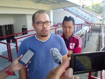 Manajer Kalteng Putra, Tomi Irawan