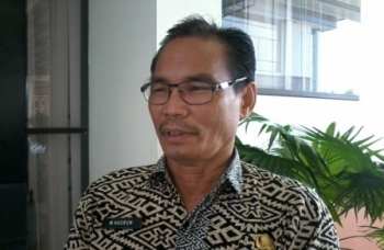 Kepala Badan Kepegawaian Penelitian dan Pendirikan (BKPP) Kabupaten Katingan M Hasrun