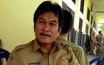 Kepala DLH Kota Palangka Raya, Rawang.