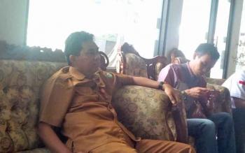 Kepada Dinas Pemberdayaan Masyarakat Pemerintahan Desa Kabupaten Kotim, Redy Setiawan.