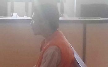 Tito Suwandi Putra alias Wandi terdakwa kasus penganiayaan.