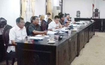 Rapat koordinasi antara komisi III DPRD Kotim dengan pihak BPJS Kesehatan