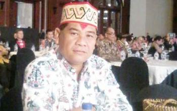 Kadisbudpar Provinsi Kalteng, Guntur Talajan menghadiri Rakornas Pariwisata III di Jakarta