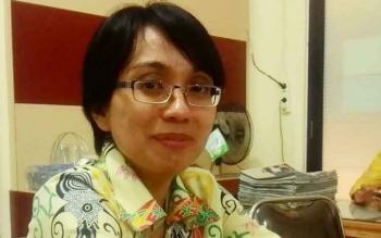 Kepala Bidang (Kabid) Cipta Karya, Dinas Pekerjaan Umum Penataan Ruang Perumahan dan Kawasan Pemukiman (DPUPRPKP) Lisa Nata Lestari,