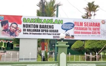 Nonton Bareng Film G30S PKI, Mengingat Sejarah sekaligus Bernostalgia