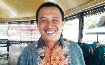 Koordinator Cabang Masyarakat Peduli Badan Penyelenggara Jaminan Sosial Olly Suryono.