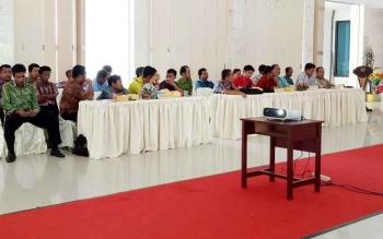 Salah satu kegiatan KPU Sukamara.