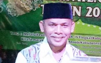 Ketua DPD Lasqi kabupaten Lamandau, H. Tommy Hermal Ibrahim