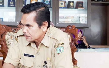 Kepala Dinas Ketahanan Pangan Kotim Jakatan