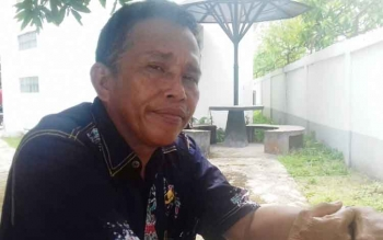 Kadis Perikanan dan Kelautam Kabupaten Kapuas Darmawan.