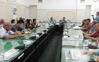 Asisten Administrasi Pemerintahan dan Kesejahteraan Rakyat, Setda Kabupaten Malang, Abdull Rachman menerima kunjungan Pemko Palangka Raya, Jumat (29/9/2017)