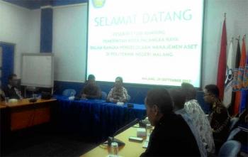 Kunjungan kerja Pemko Palangka Raya ke Politeknik Negeri Malang, Jumat (29/9/2017)